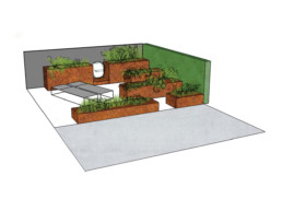 particulier - eetbare tuin - ontwerp